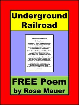 Always FREE Underground Railroad Poem
