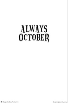 Always October Sponge Activities and Chapter Questions