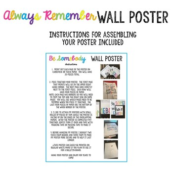 Always Remember Wall Poster