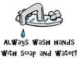 Always Wash Hands - Poster