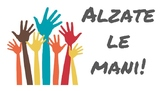 Alzate Le Mani - Raise Your Hands Classroom Sign
