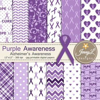 Alzheimer's Disease Awareness Digital Papers