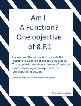 Am I A Function?