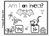 Am I An Insect? Interactive Emergent Reader & Worksheet
