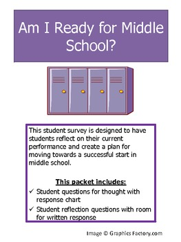 Am I Ready for Middle School?  A Student Reflection