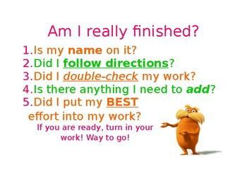 Am I Really Finished? Sheet