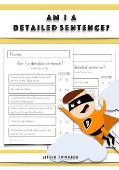 Am I a Detailed Sentence?