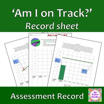 Am I on track?  Self Assessment Grade graph to show progress.