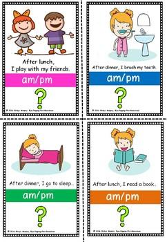 Am PM flashcards