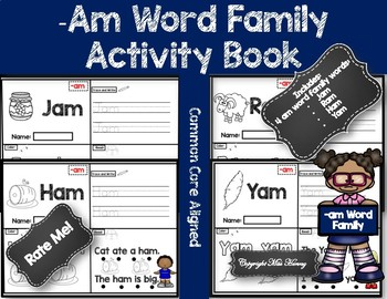 Am Word Family Activity/Book