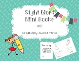 Am sight word mini book