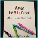 Ama: Pearl Divers Short Read with Summary Workbook