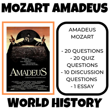 Amadeus Movie Guide Discussion Questions