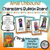 Amal Unbound Characters Cards Bulletin Board