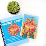 Amal Unbound Full Novel Unit Pre/Post Activities, Journal, Lessons, Quizzes
