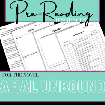 Amal Unbound Pre-Reading Activities