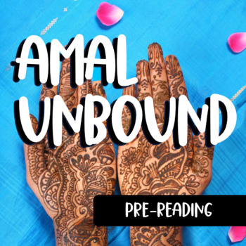 Amal Unbound: Pre-Reading Articles, Questions, and Pakistan Scrapbook Activity
