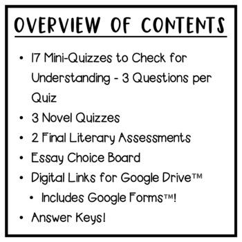 Amal Unbound: Quizzes, Tests, Essays - Assessment Pack