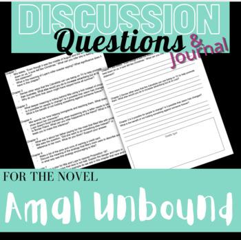 Amal Unbound Reading Comprehension Journal