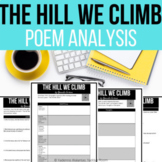 """Amanda Gorman """"The Hill We Climb"""" Analysis Questions and A"""
