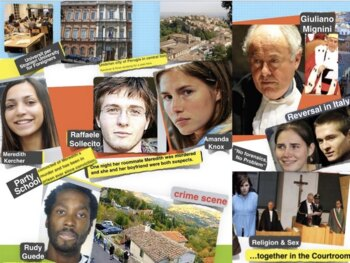 Amanda Knox ~ Murder Trial ~ Exchange Students ~ Double Jeopardy ~ 64 Slides