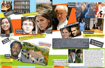 Amanda Knox & Double Jeopardy & Murder Trial - FREE POSTER