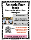 Amanda Knox Netflix Documentary & Webquest Bundle (double jeopardy)