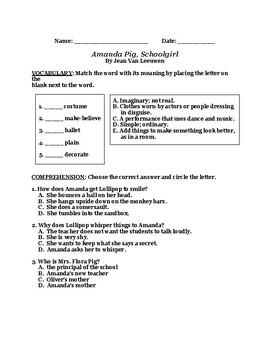 Amanda Pig Schoolgirl CCG