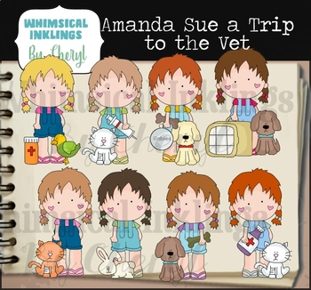 Amanda Sue A Trip To The Vet Clipart Collection