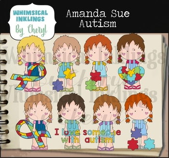 Amanda Sue Autism Clipart Collection