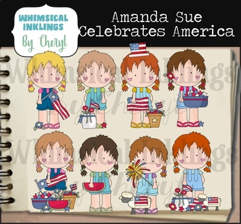 Amanda Sue Celebrates America Clipart Collection