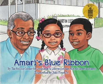 Amaris Blue Ribbon Printable Book