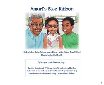 Amari's Blue Ribbon Printable Book