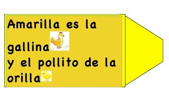 Spanish Color Song for Amarillo