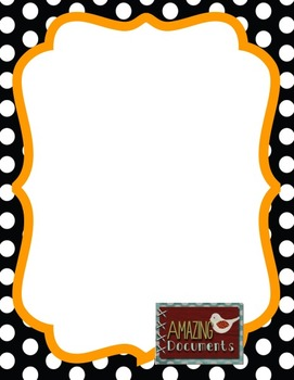 120 Colorful Polka Dot Border