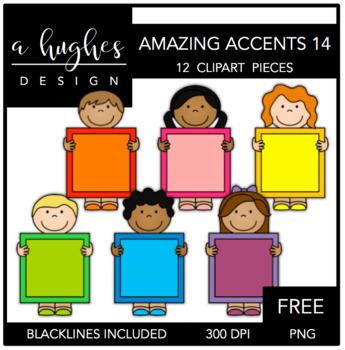 FREE Amazing Accents Clipart Set 14 {A Hughes Design}