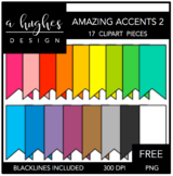 FREE Amazing Accents Clipart Set 2 {A Hughes Design}