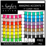 FREE Amazing Accents Clipart Set 7 {A Hughes Design}