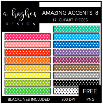 FREE Amazing Accents Clipart Set 8 {A Hughes Design}