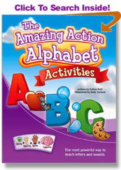 Amazing Action Alphabet ACTIVITIES Book