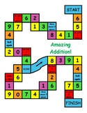 Amazing Addition Board Game- Differentiated! 6 Levels of C