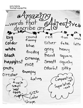 Amazing Adjectives