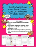 Amazing Adjectives: 2nd and 3rd Grade Common Core Differen