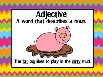 Amazing Adjectives- Exploring A Farm