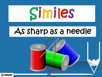 Amazing Adjectives and Superb Similes