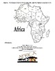 Amazing Africa Thematic Packet for Second Grade