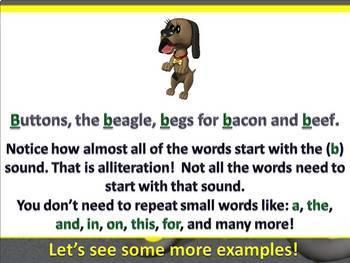 Alliteration PowerPoint Lesson {Figurative Language}