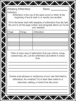 Amazing Alliteration - Practice Worksheet