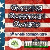 Social Studies Project - Grade 5 - Common Core