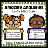 Amazing Analogies Task Cards